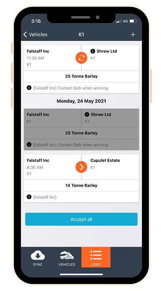 In the News – New driver app simplifies life for operators